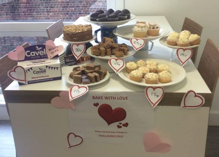 Bake sale to raise money for Cavell Nurses' Trust