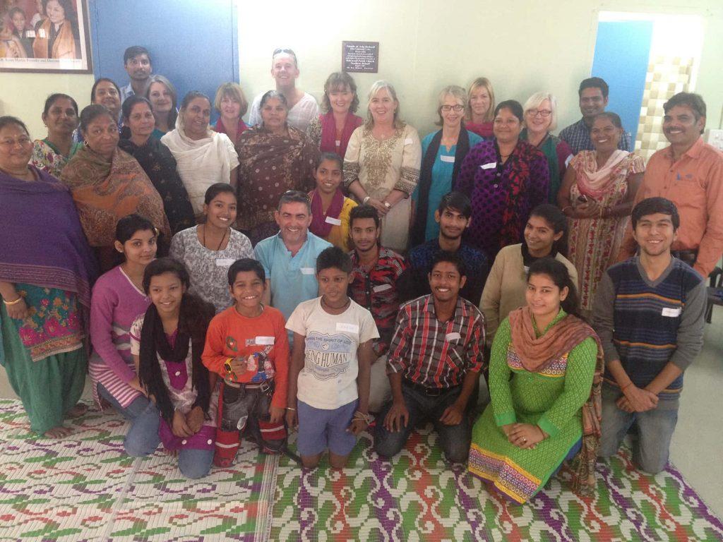 Thornbury charity nurse work in India