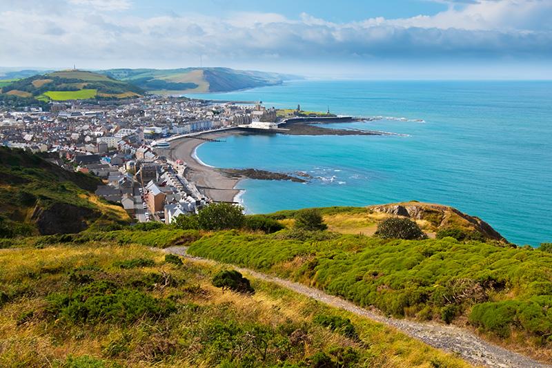 View of Aberystwyth, Wales